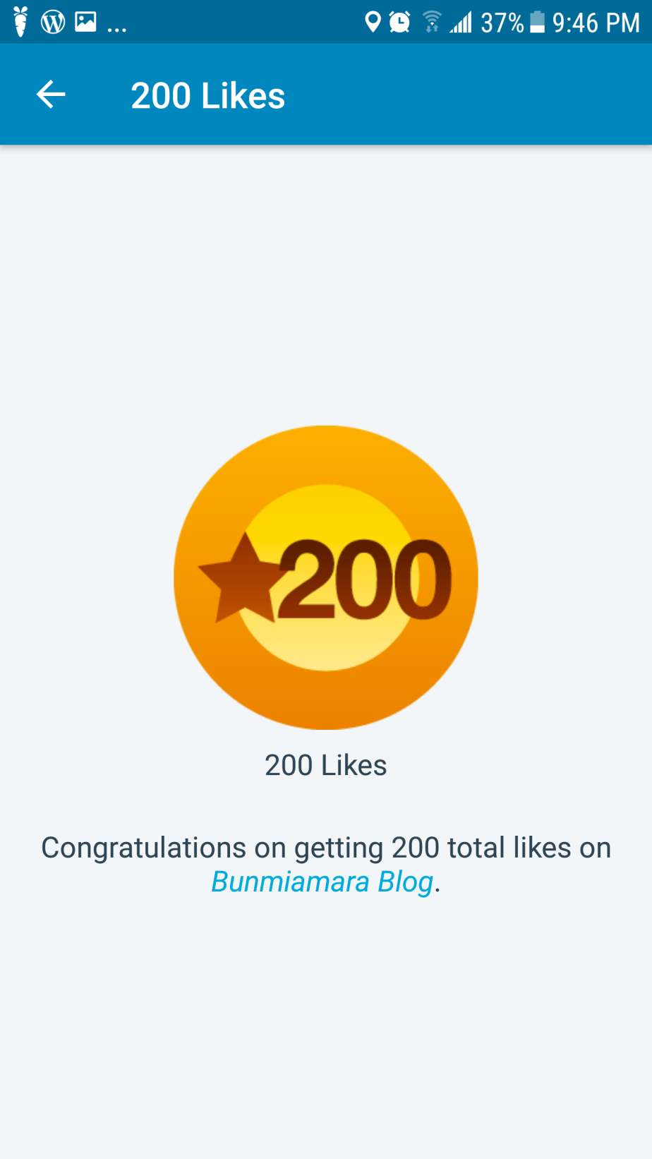 My first 200 likes